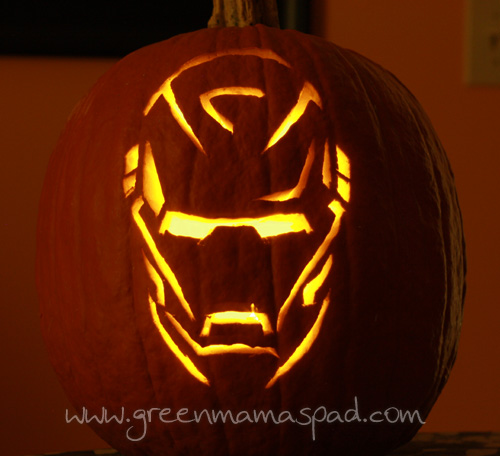Iron man pumpkin template imgkid the image kid
