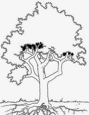 Árvore para pintar
