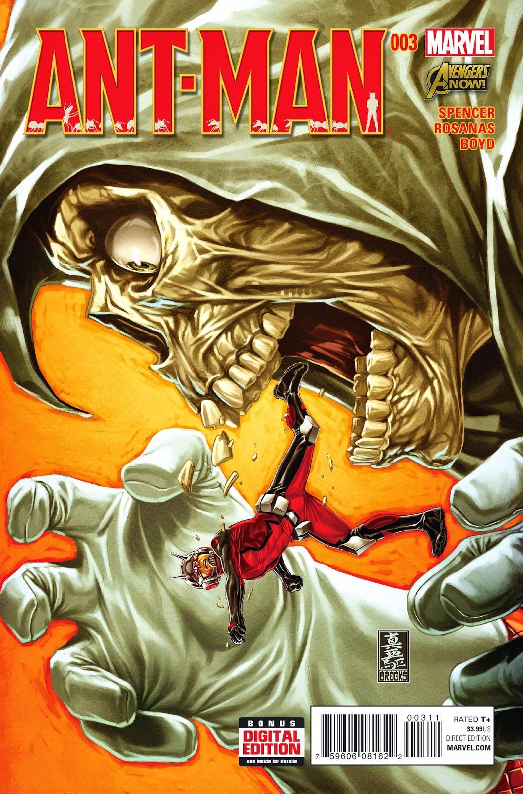 Ant-man versus Taskmaster