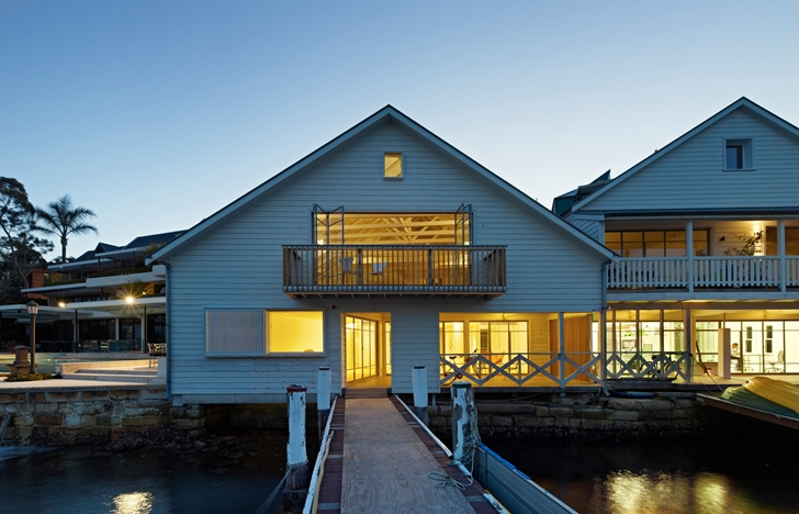 Boatshed in Sydney