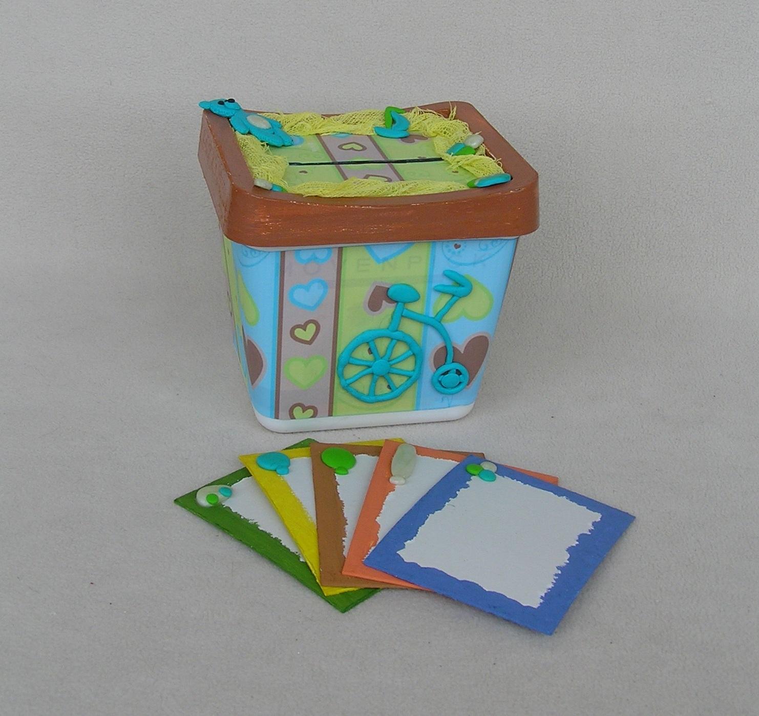 Как сделать коробку копилку своими руками 53