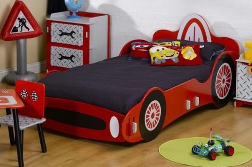 Camas para ni os con forma de autos ideas para decorar - Dormitorios de cars ...