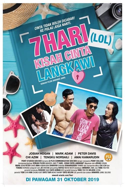 31 OKT 2019 - 7 HARI (LOL) KISAH CINTA LANGKAWI (Malay)