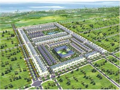 Đất nền sân Golf Đồng Nai, mô hình
