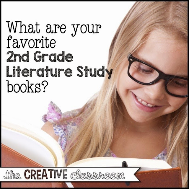 2nd Grade Literature Study Book Ideas