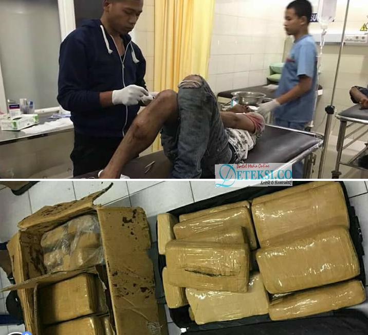 Dua Kurir Narkoba Antar Provinsi Ditembak Polisi