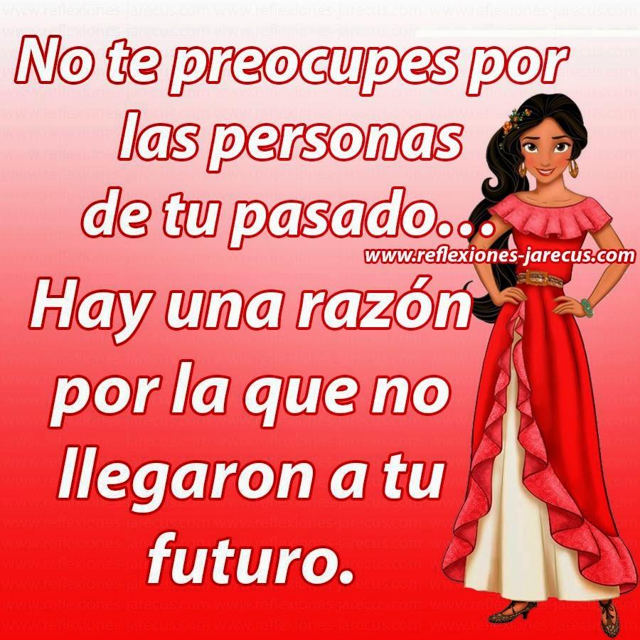 No te preocupes por las personas de tu pasado, hay una razón por la que no llegaron a tu futuro