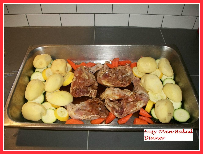 Hongkongchic easy oven baked dinner - Easy oven dinner ...