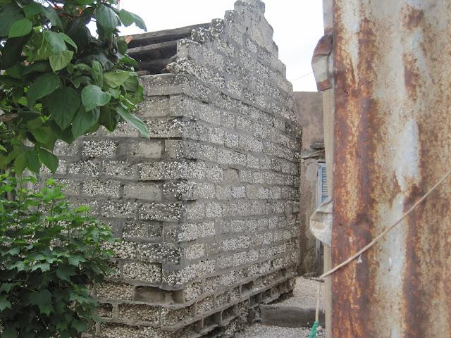 Casas de conchas en Fadiouth, Senegal