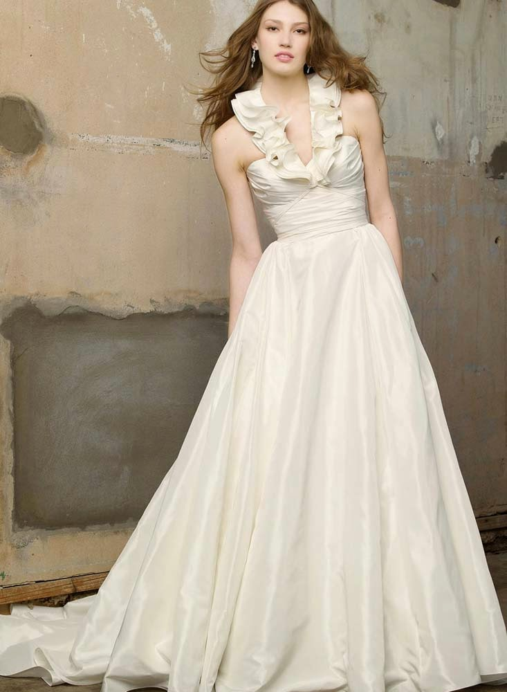 Country Long Wedding Dresses With Pockets Design pictures hd