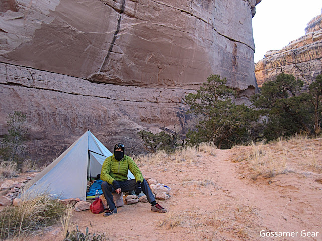 Ultralight backpacking grand gulch