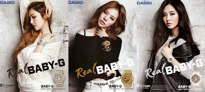 girls generation real baby g 2013