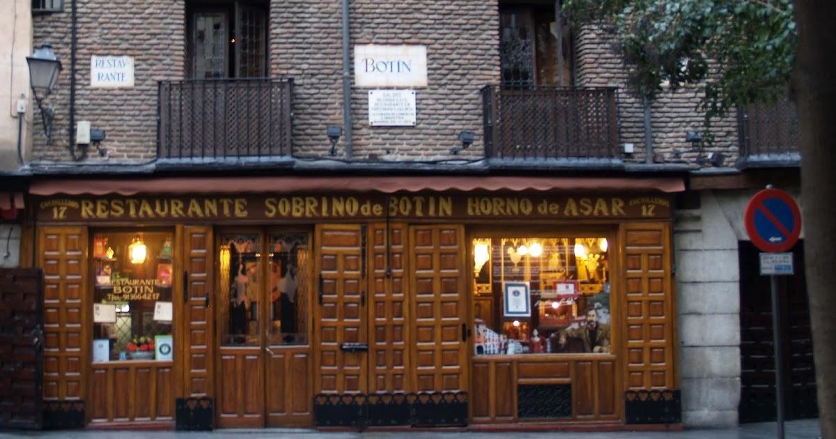 Caminando por madrid bot n restaurante pionero for La casa encendida restaurante madrid