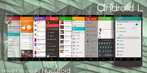 Telefonunuza Android L görünümü verin