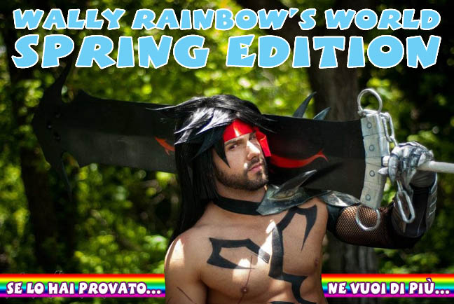 wally rainbow valeriano elfodiluce lightelf  fumetti gay comics blog ufficiale