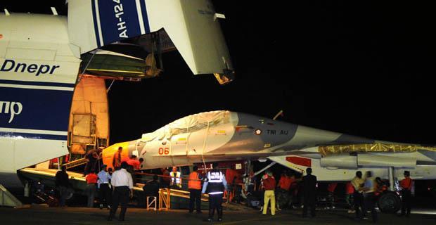 Komisi I Mau Pastikan Pesawat Sukhoi Baru Sudah Bersenjata