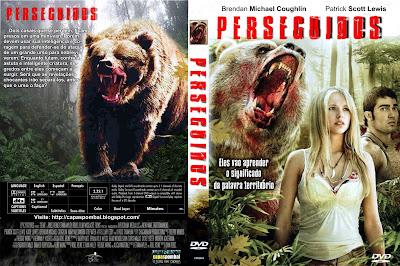 Filme Perseguidos DVD Capa