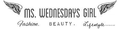 Ms. Wednesdays Girl: A UK  beauty, fashion + lifestyle blog