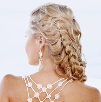 El mundo del peinado peinados de novia con trenzas