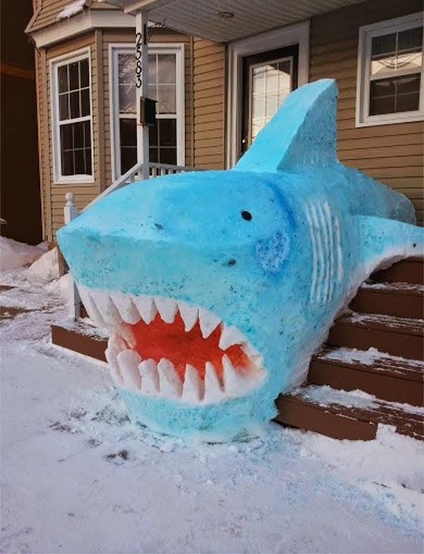 beautiful snow sculpture art-2