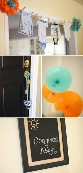 baby boy shower, baby shower decoration ideas, baby shower ideas for boys,