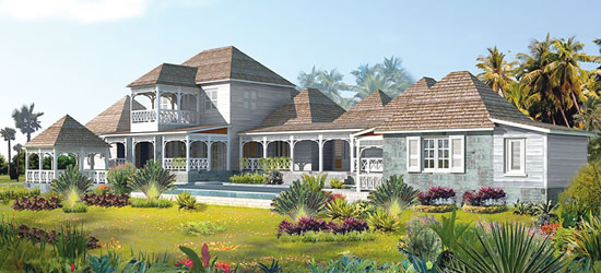 Eco Villas for Sale, St Kitts