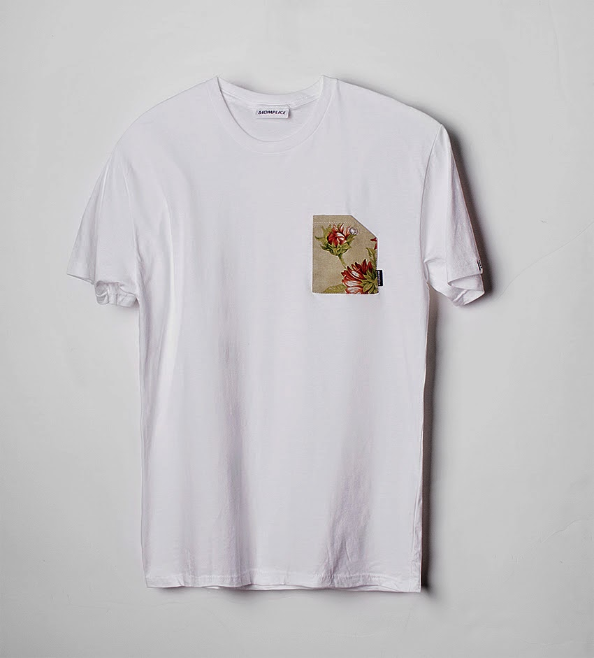 Thirdround Clothing - Akomplice Sunflower Pocket Tee