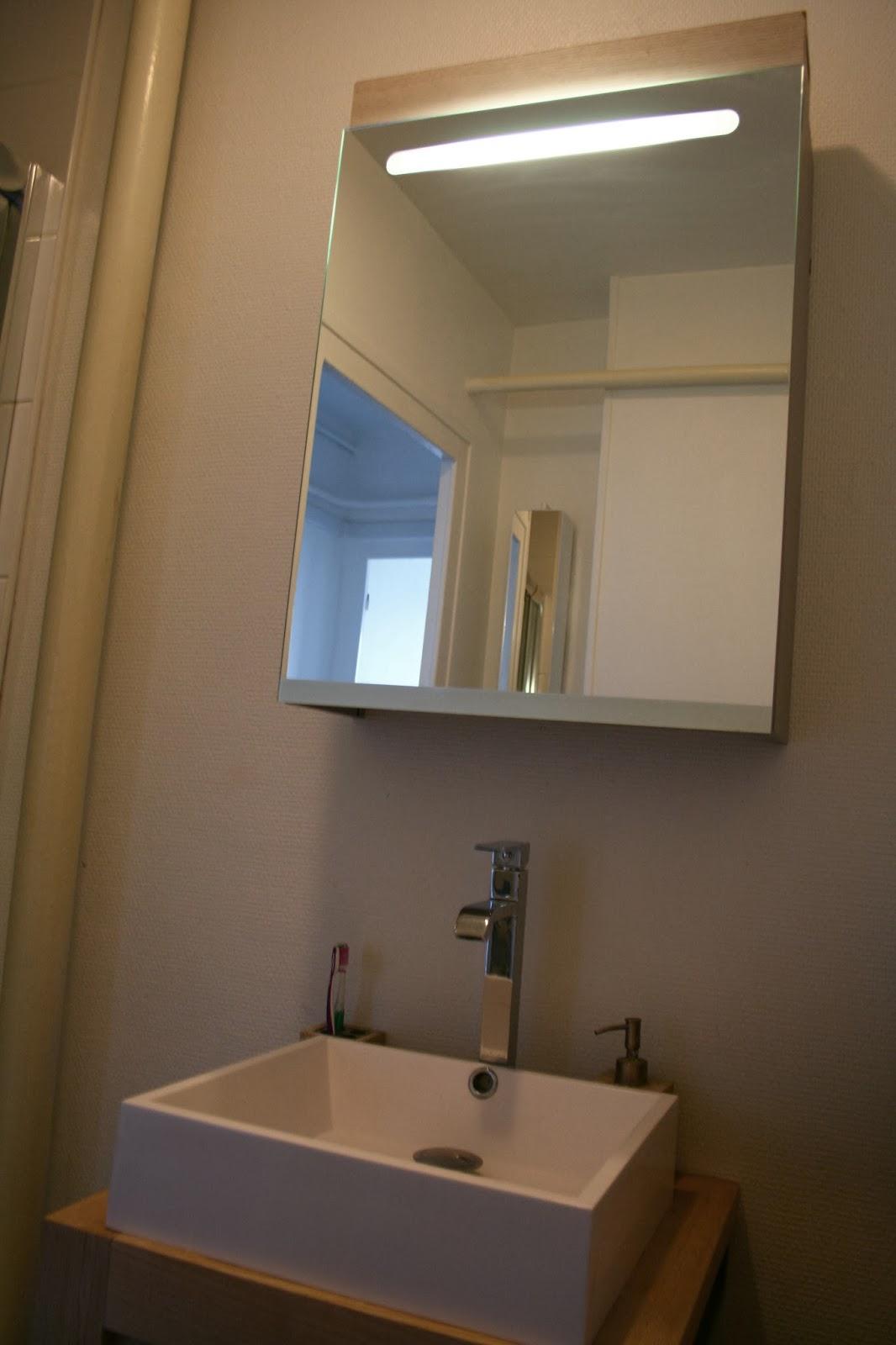 Notre petit chez nous...: avant après * ma petite salle de bain *