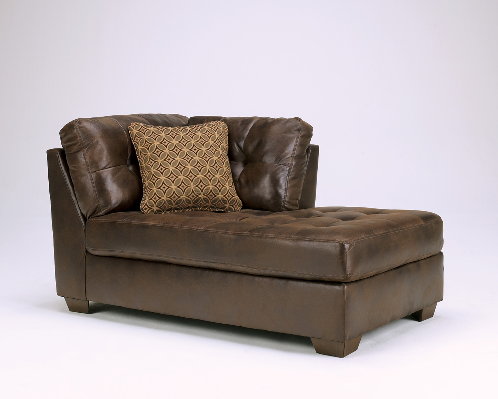Frontier canyon chaise sectional by ashley furniture for Ashley chaise sectional