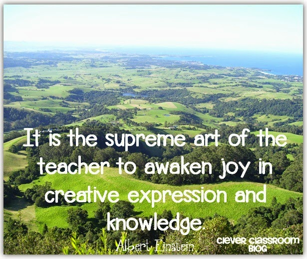 albert einstein quote it is the supreme art of the teacher to awaken joy in