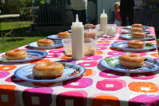 Decorate Donuts Party Activity