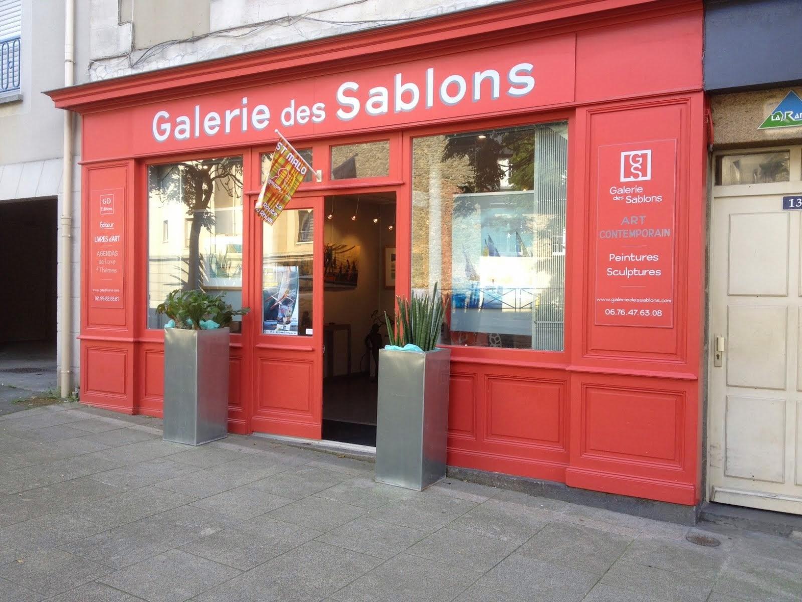 PROCHAINEMENT À SAINT MALO : GALERIE DES SABLONS