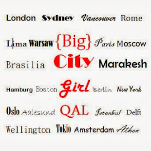 Big City Girl QAL