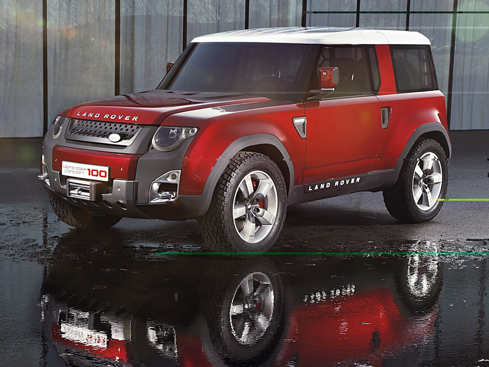 amazing red land rover 2012 amazing cars for you. Black Bedroom Furniture Sets. Home Design Ideas