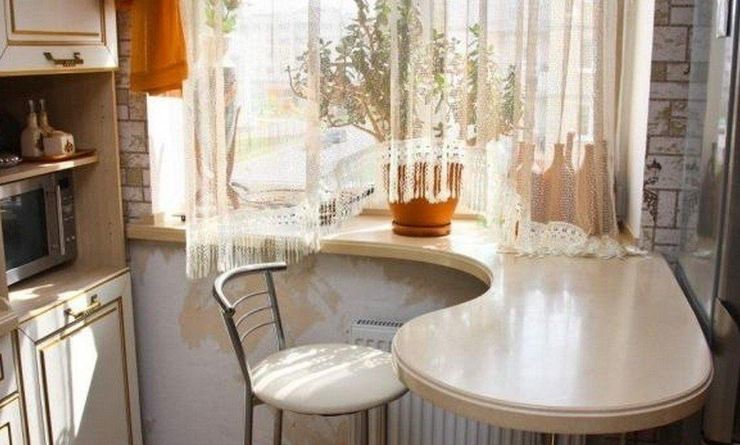 Среда обитания: идея для маленькой кухни - кухонный стол вме.
