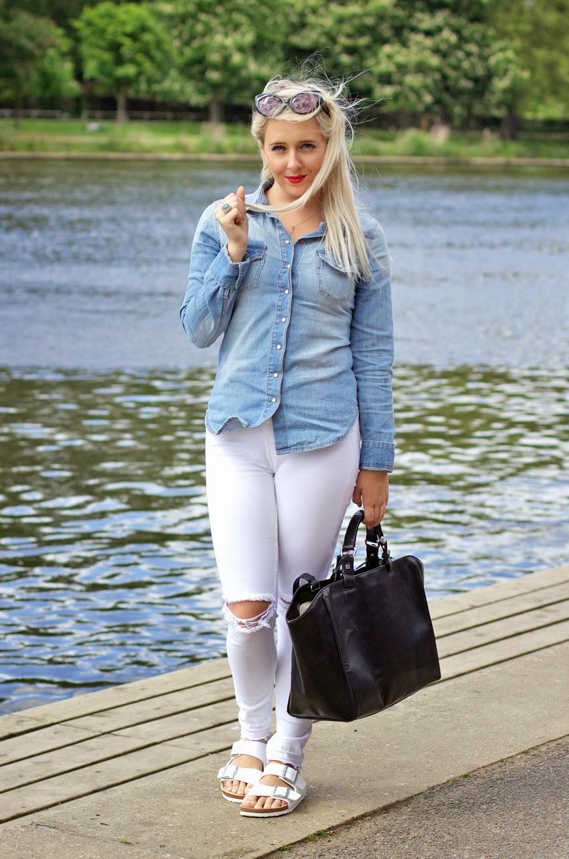ARIZONA BIRKENSTOCK of FLAT Style Side SANDALS Petite ZiOXkPuT