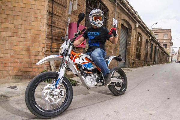 KTM Freeride E-MS: short but intense