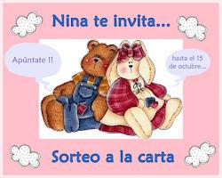 Sorteo a la carta de Nina