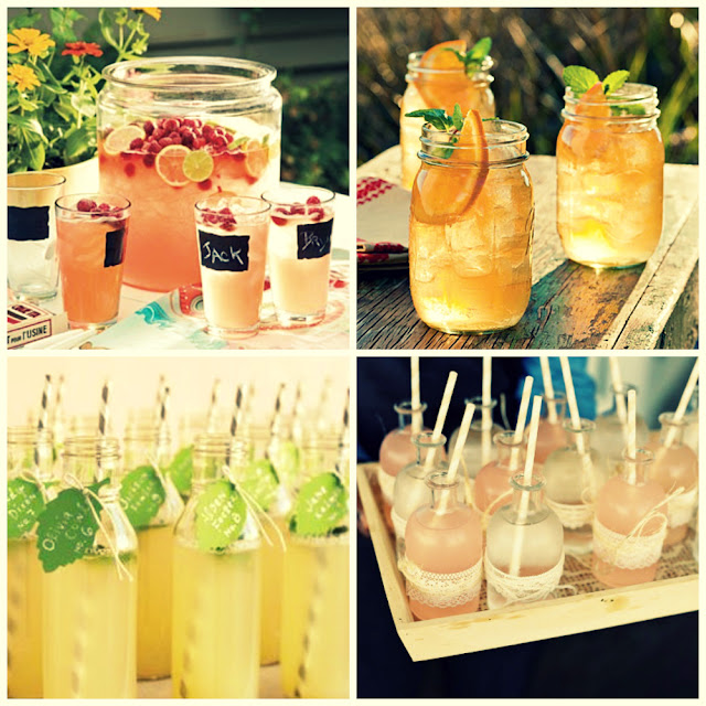 summer wedding punch
