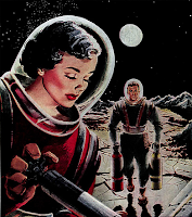 scifi image from 1950 Galaxy magazine