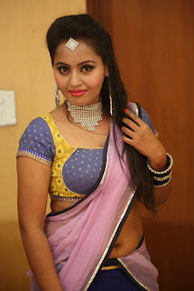 Actress Neetha Sizzling pics in half saree 004.JPG