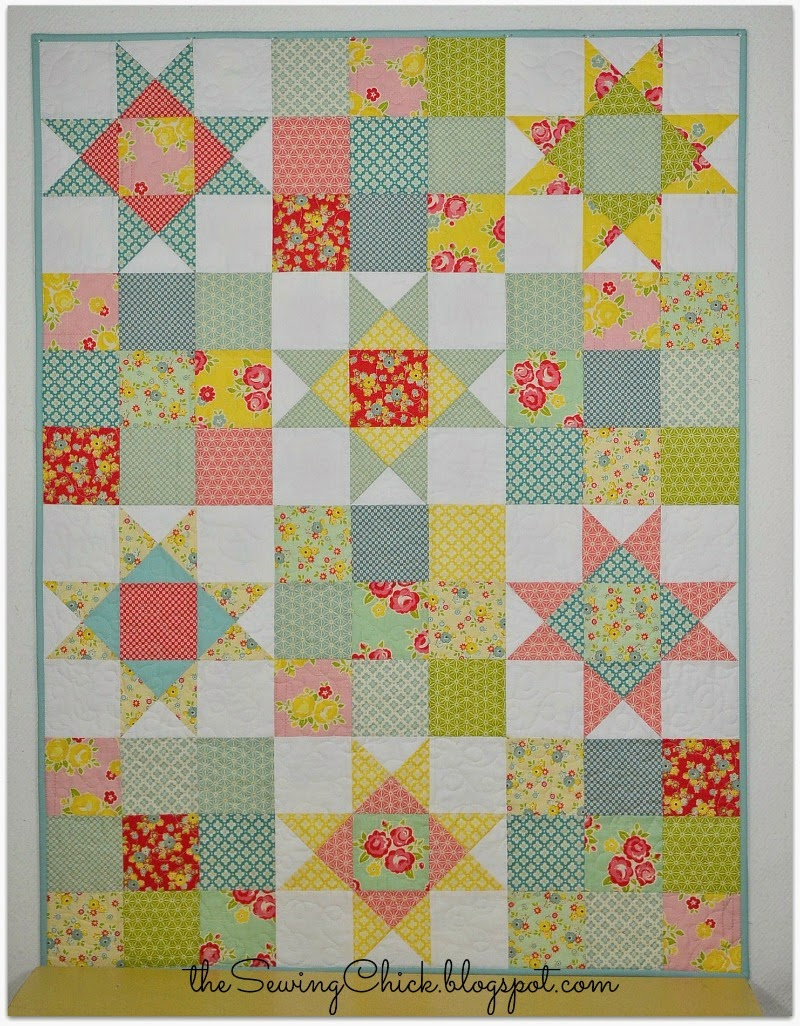 colorful modern baby quilt the sewing chick