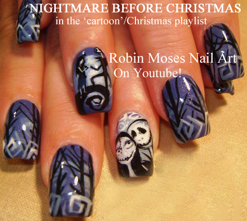 Robin Moses Nail Art February 2015: Robin Moses Nail Art: Christmas Nails! 2 Fun New Designs