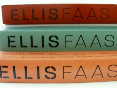 Fine Cosmetics, ELLIS FAAS Cosmetics, Creamy Cosmetics