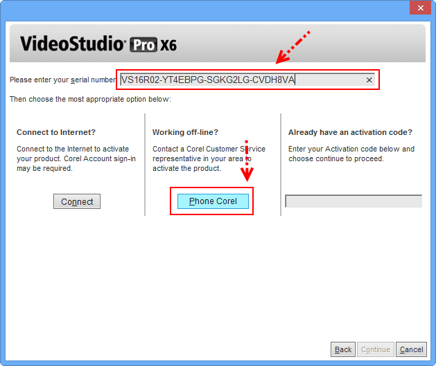 corel videostudio pro x4 activation code and serial number