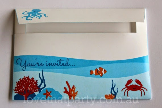 sea party, ocean party, beach party, under the sea invitation, kids party ideas