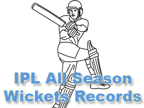 IPL All Season Most Wicket Records and IPL Purple Cap Records