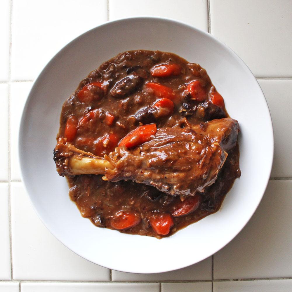 Chomping BoardBraised Guinness Lamb Shank Stew