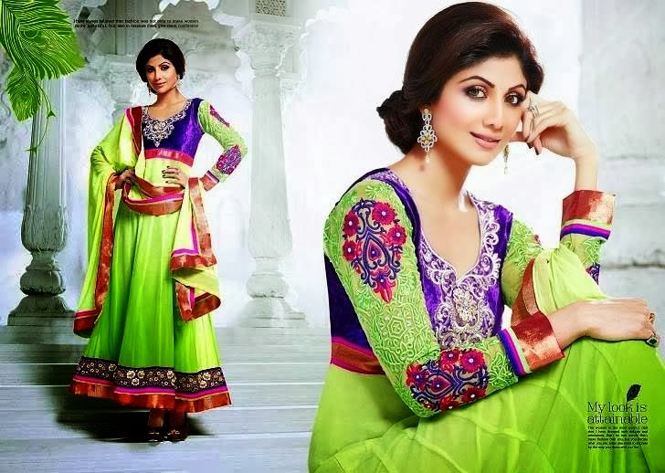 New Party Wear and Wedding wear Dress Designs for girls 2014-15