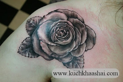 Black Rose Tattoos Design